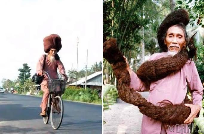 Dünyanın En Uzun Saçlı Adamı - Tan Van Hay
