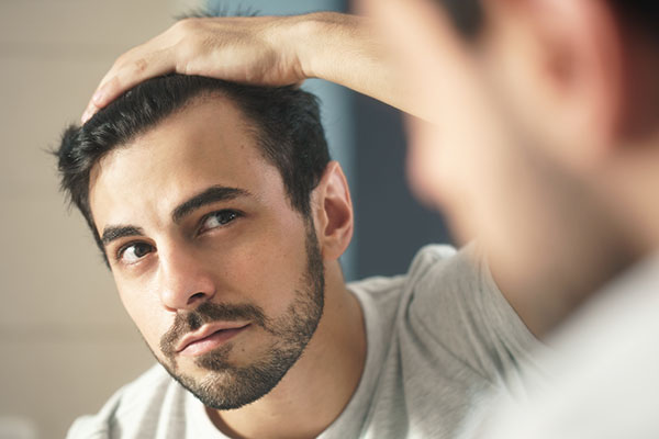 Erkeklerde Saç Yağlanması