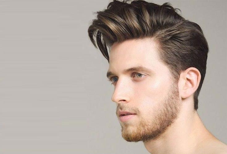 Pompadour Saç Stili - Erkek