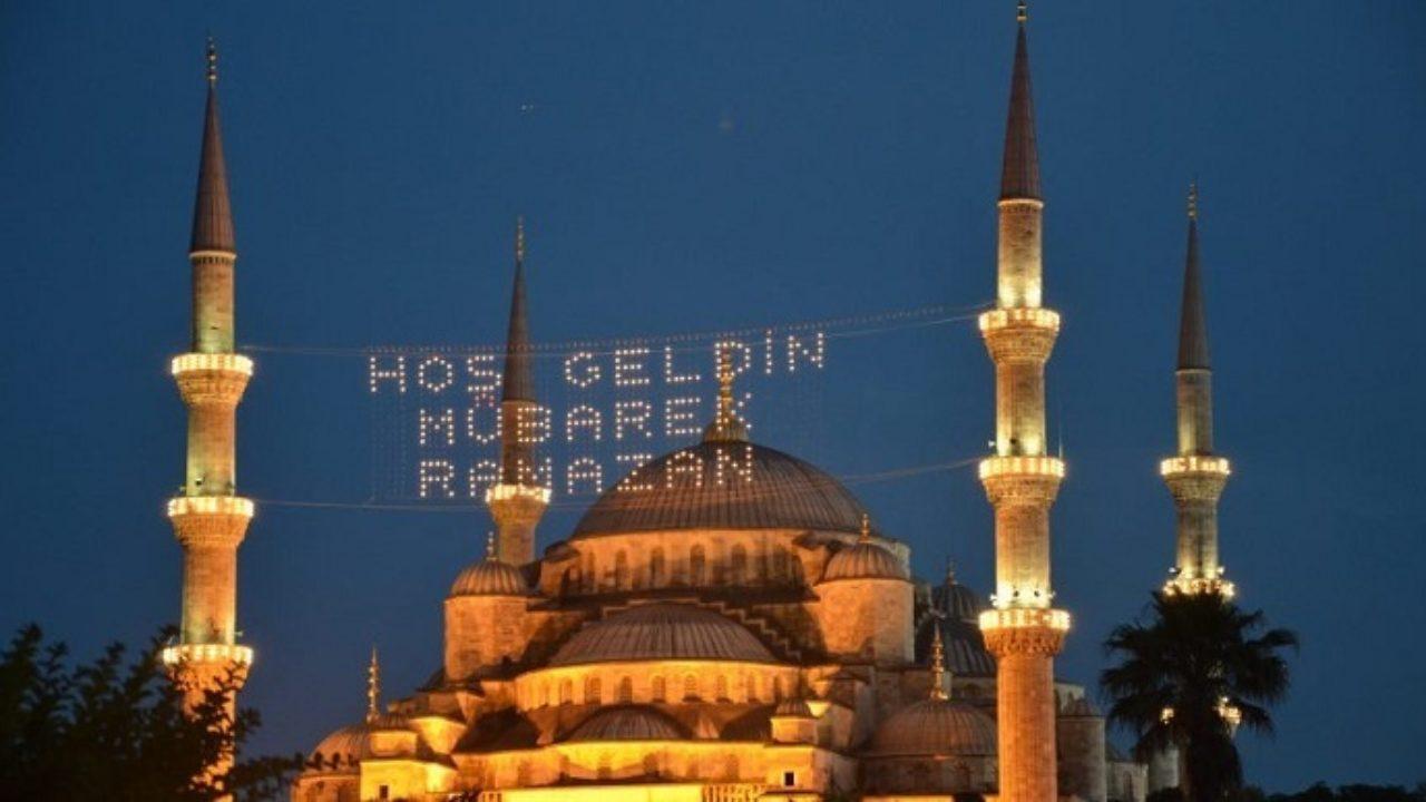 Ramazan ayında sultan ahmet cami